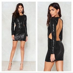 NEW Nasty Gal Back to the Drawing Board dress
